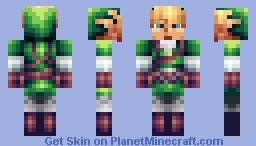 Link - The Legend of Zelda: Skyward Sword Minecraft Skin