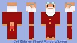 Sleepy Santa in PJ's  ( Looks better in preview -3D DETAIL )