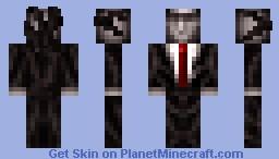 Slender Man Minecraft