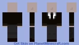 Slenderman Custom Skin Minecraft Skin