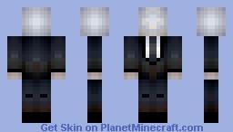 Slender Man (Slender Man) Minecraft Skin