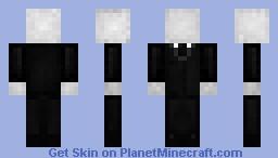 Slender Minecraft Skin