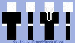 Slenderman (Original) Minecraft Skin