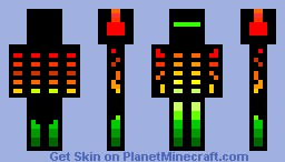 Boxen men Minecraft Skin