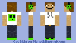 Slime Lover Minecraft Skin