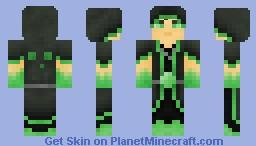 Slime Worshiper Minecraft Skin