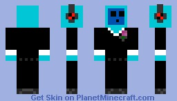 Slime in a Suit! Minecraft Skin