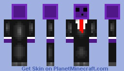 Slime in Suit - Purple Edition Minecraft Skin
