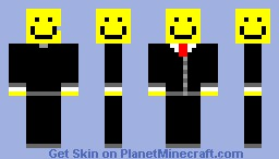 Smiley Buisness Minecraft Skin
