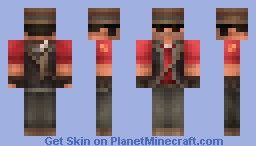 Sniper from Team Fortress 2 Minecraft Skin