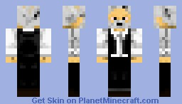 President Snow The Hunger Games Minecraft Skin