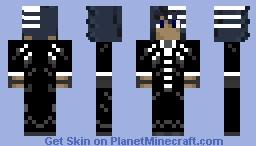 SokkaKing42 Death The Kid SOUL EATER Minecraft Skin