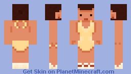 Sun Bathing Minecraft Skin
