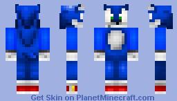 CocoBlue V3 Minecraft Skin