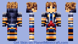 Sora - Kingdom Hearts 3 Minecraft Skin