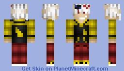 Soul Evans (Better in 3D!) Minecraft Skin