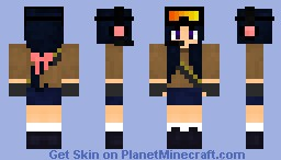 Pix❀ Space Girl Warrior. Minecraft