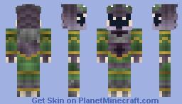 ~Space Pirate From Metroid~ Skin Battle Against Diamond655 Minecraft Skin
