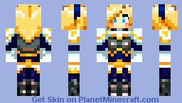League of Legends-Lux Minecraft Skin