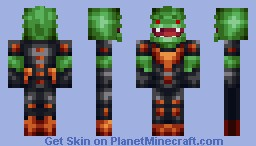 Zekel The Merc (#17 In Contest) Minecraft Skin