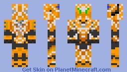 Halo 4 Spartan CIO Web skin Minecraft Skin