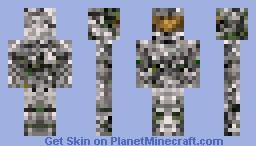 Jungle Spartan (halo) Minecraft Skin