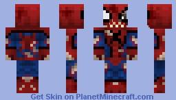 Spider-man Zombie Minecraft