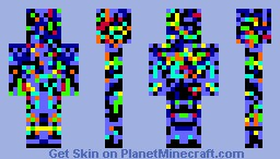 Splatter Man Minecraft Skin