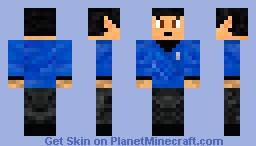 Spock Minecraft Skin