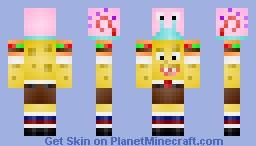 Spongebob And Gary Minecraft Skin