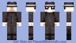 Black Spy Minecraft