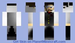Spy tux Minecraft Skin
