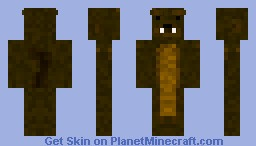 Squacca: The Squirrel Bacca Minecraft Skin