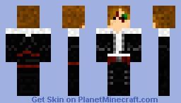 Final Fantasy 8:  Squall Leonheart (draft-ish) Minecraft Skin