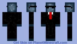Spy squid Minecraft Skin