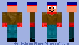 Stan ( from South Park ) Minecraft Skin