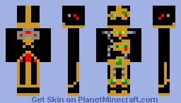 Steampunk Bio-Robot Minecraft Skin