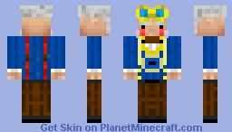 Steam Punk Scientist [Level 20 Special] Minecraft Skin