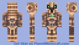 Steampunk Robot Minecraft Skin