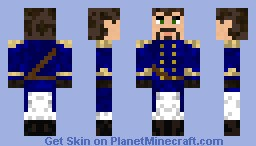 Steampunk Airship Captain [Updated] Minecraft Skin