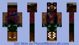 Steampunk Engineer Minecraft Skin