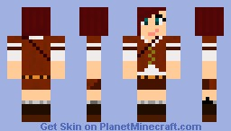 Steampunk girl Minecraft Skin
