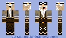 Steampunk Mad Scientist (Contest) Minecraft Skin