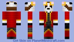 Steampunk Panda [My Personal Skin] Minecraft