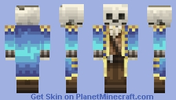 Skeleton Steampunk Captain [3D features] [1.8 skin update] Minecraft