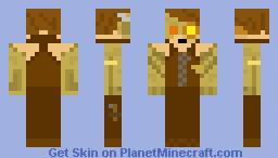 Slyv the Steampunk Cyborg Minecraft Skin