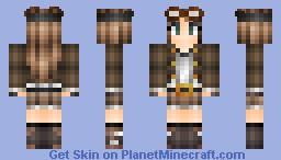 Steampunk Girl [Version 3.0] Minecraft Skin