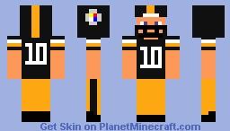 Pittsburgh Steelers Minecraft Skin