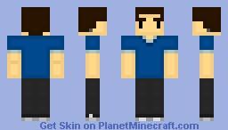 Steve (StereoCraft) Minecraft Skin