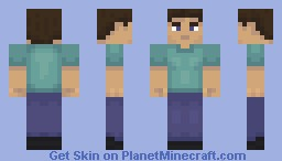 Steve 2.0 Minecraft Skin